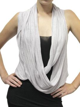Hero Crane Wrap Vest Fall 2009 Trend SIlver