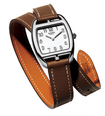 Hermes Leather Wrap Watch 2009 Fall Trend