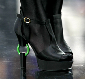 Chanel Fall 2009 Statement Heels Trend