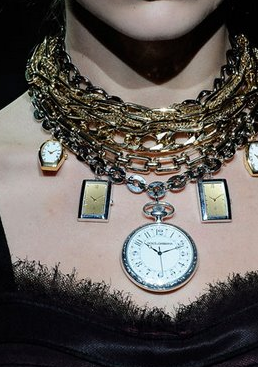 Dolce and Gabbana Statement Necklace Fll/Winter 09/10 Jewelry Trend