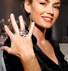 Chanel Statement Jewelry Cocktail Ring Fall/Winter 09/10 Trend