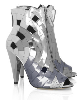 Thakoon Mirror Ankle Boots Winter 2010