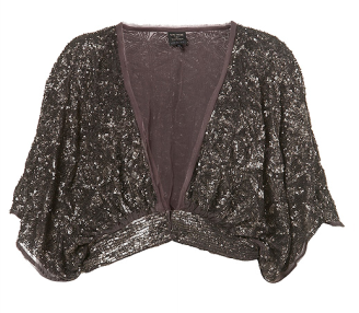 Kate Moss Top Shop Sequins