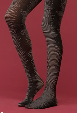 Patterned Tights Free People