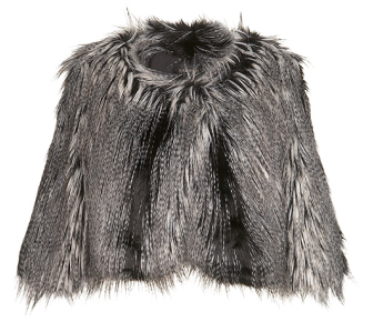 Kate Moss Top Shop Fur Jacket