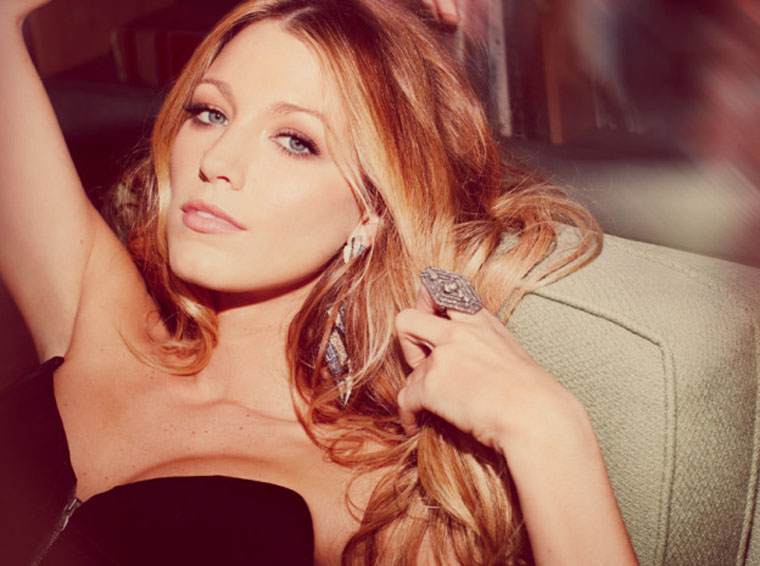 [blake lively] marie claire uk, october